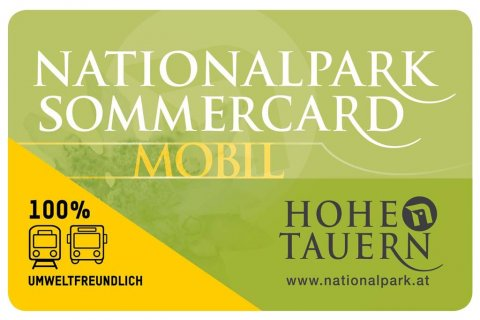 Nationalpark Sommercard | © Ferienregion Nationalpark Hohe Tauern